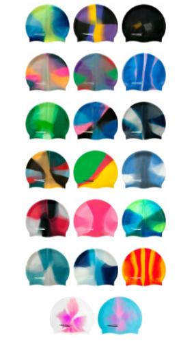 Plavalna kapa AQUA SPEED SILIKON različnih barv