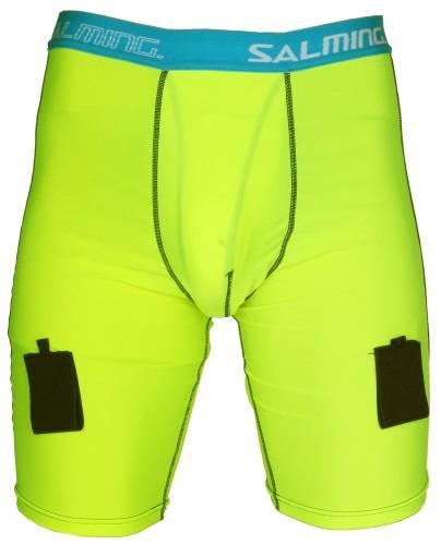 Salming kratke funkcionalne hlače s suspenzorjem M