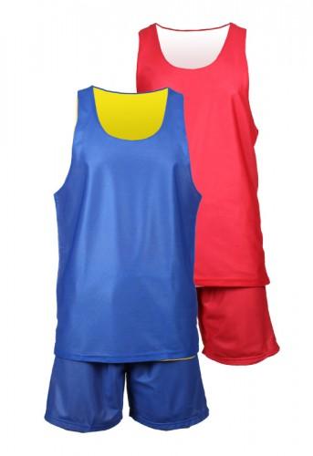 Dres za košarko Merco BD-1 rdeč S