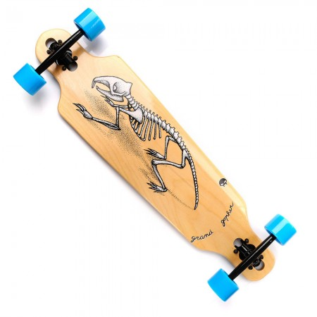 longboard GRAND GOPHER SKELET METEOR