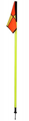 Zglobna palica za označevanje igrišča z zastavico