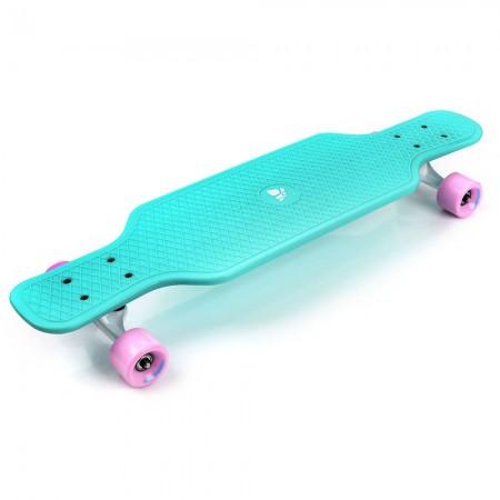 Longboard mint/roza METEOR