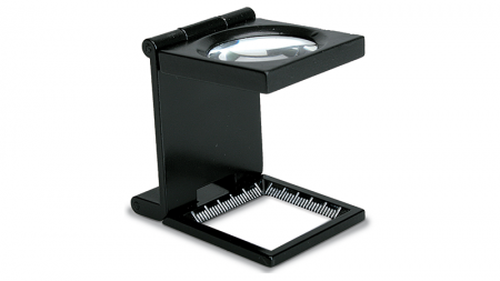 Lupa Konus Liner tester 55x50 - 6X dual LED