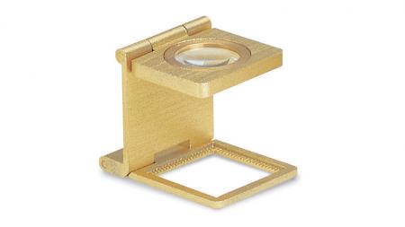Lupa Konus Liner tester 20x20 - 8X gold