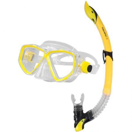 Aqua speed potapljaška maska z dihalko Image+Linu modra