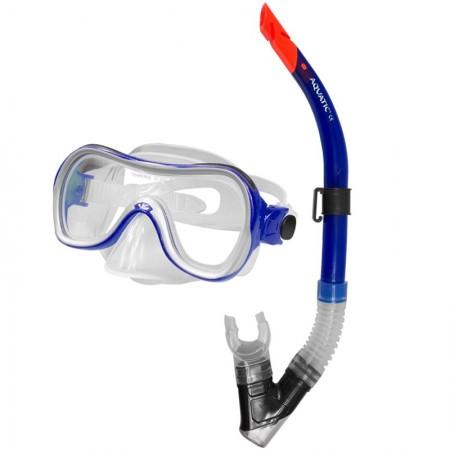 Aqua speed potapljaška maska z dihalko Sigma+Space modra
