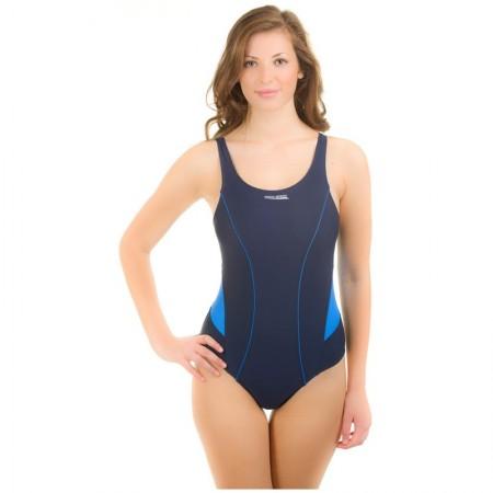 Aqua speed ženske enodelne kopalke Magda modre 34