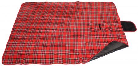 Merco piknik odeja 150x180cm rdeča
