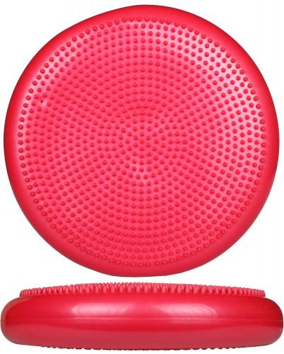 Masažna ravnotežna blazina merco 33 cm rdeča