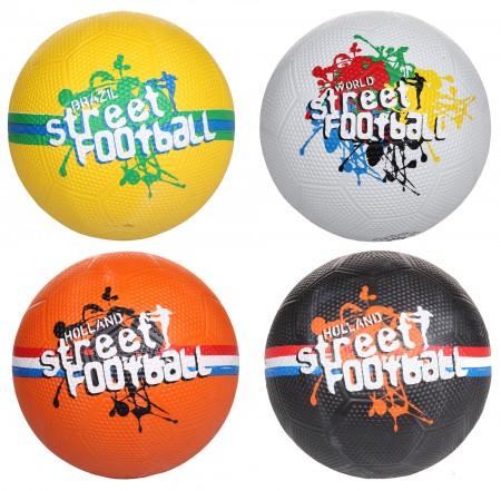 Nogometna žoga Avento Street rumena vel 5