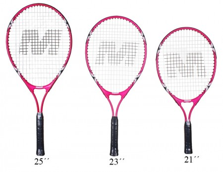 Aluminijast lopar za tenis Merco Twister Junior 21""