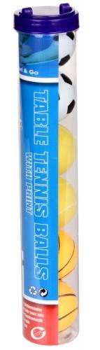 Žogice za namizni tenis Get&Go 6 kos barvne