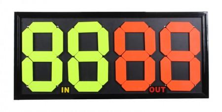 Tabla za obvestila igralcem dvojna Merco