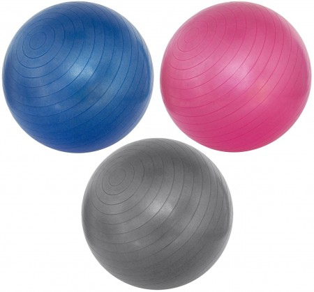 Žoga za vadvo Avento 55cm siva