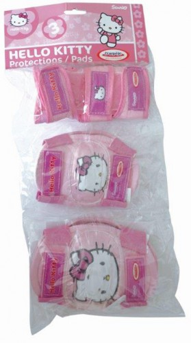 ŠČITNIKI ZA ROLANJE HELLO KITTY 6 DELNI SET