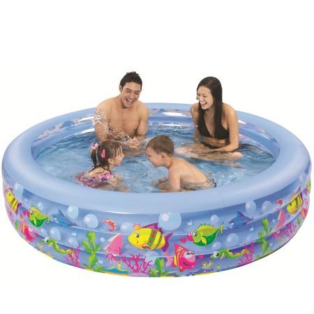 Napihljiv bazen Aquarium 152 x 50 cm