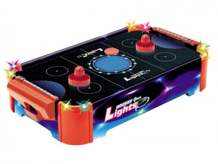 Mini Air Hockey s svetlobnimi učinki