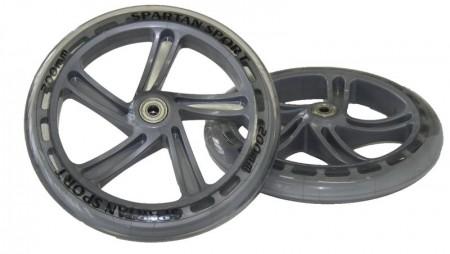 Rezervna kolesa za skiro PU 200mm ABEC 7- 2 kosa