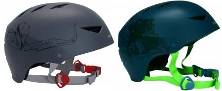 Nijdam čelada za skateboard Deluxe siva S