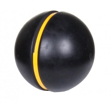 Atletska cricket žoga z rumeno črto