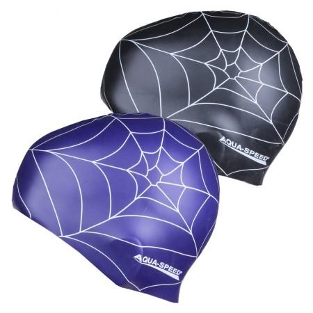 Plavalna kapa Aqua Speed Spider črna
