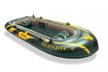 Intex napihljiv čoln za 4 osebe