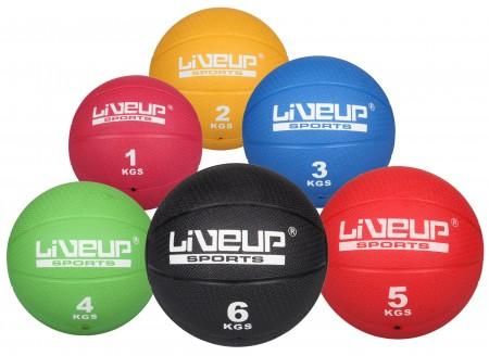 LiveUp medicinska žoga 6 kg