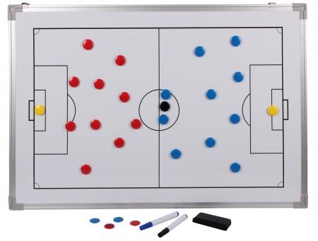 Trenerjeva taktična tabla Merco magnetna 90 x 60 cm