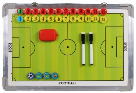Trenerjeva taktična tabla Merco magnetna za obešanje