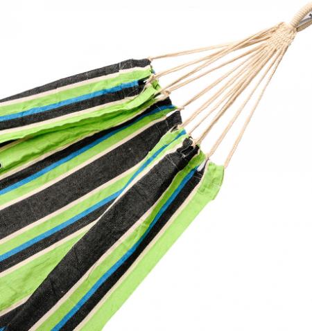 kompaktna viseča mreža zeleno črna