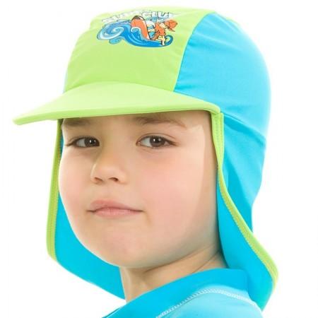 Aqua Speed kapa z UV zaščito zelena 3