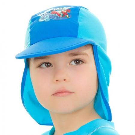 Aqua Speed kapa z UV zaščito modra 3