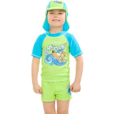 Aqua Speed majica z UV zaščito zelena 3