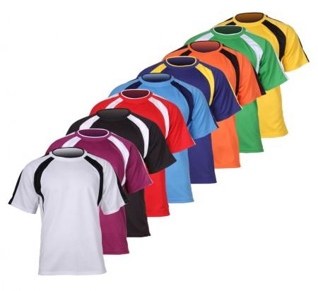 Timske športne majice chelsa oranžna vel. 128