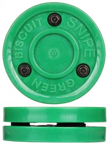 Hokejski pak Green Biscuit Sniper zelen
