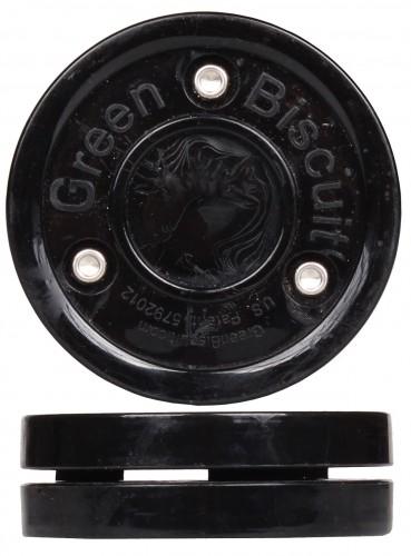 Hokejski pak Green Biscuit črn