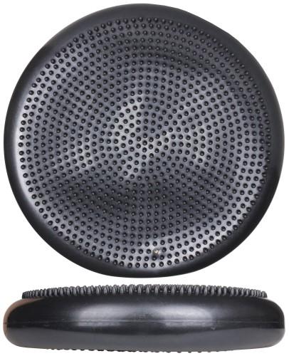 Masažna ravnotežna blazina merco 33 cm črna