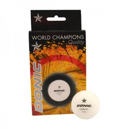 Žogice za namizni tenis Donic bele 6 kosov