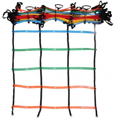 Trojna pisana vadbena agility lestev merco 4,5 m