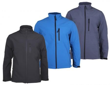 Moška softschell jakna  Lambeste SBP-1  s profesionalnim premazom črna M