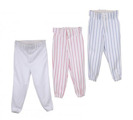 YBP/BP 2115 Baseball  otroške hlače belo modre XS