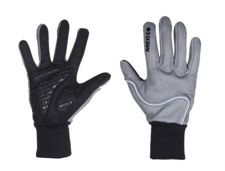 Softshell rokavice sive XXL