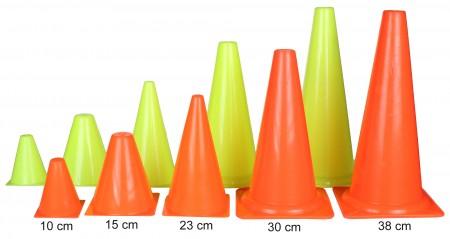stožec oranžen 46 cm