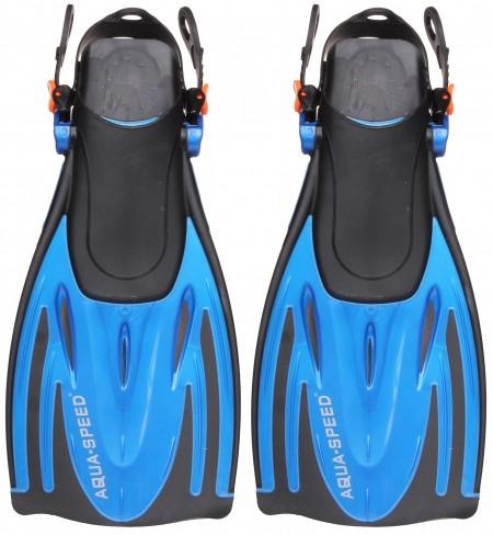 plavutke WomBat  nastavljiva velikost 27-31 modra