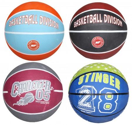 Žoga za košarko print mini velikost 3 zeleno-modra